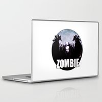zombie Laptop & iPad Skins featuring ZOMBIE by Zombie Rust