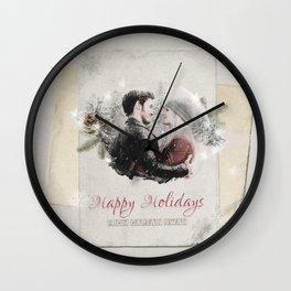 OUAT HAPPY HOLIDAYS // Captain Swan Wall Clock