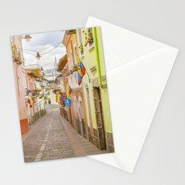 La Ronda Street Quito Ecuador Stationery Cards