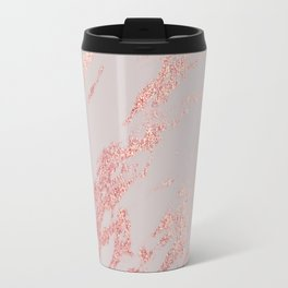 Porcelain grey rose gold Travel Mug