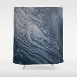 Stone Galaxy Shower Curtain