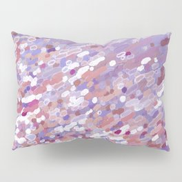 Violet Wave Reflections Pillow Sham