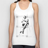 popart Tank Tops featuring Chair PopArt by C R Clifton Art