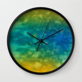 Abstract No. 417 Wall Clock