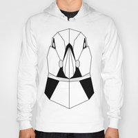 puffin Hoodies featuring Polygon Puffin by Beard and Bones