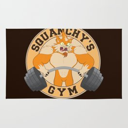 Squanchy's Gym Rug