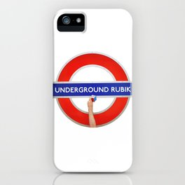 Underground Rubik iPhone Case