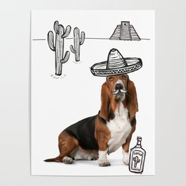 Mexican Hound Poster