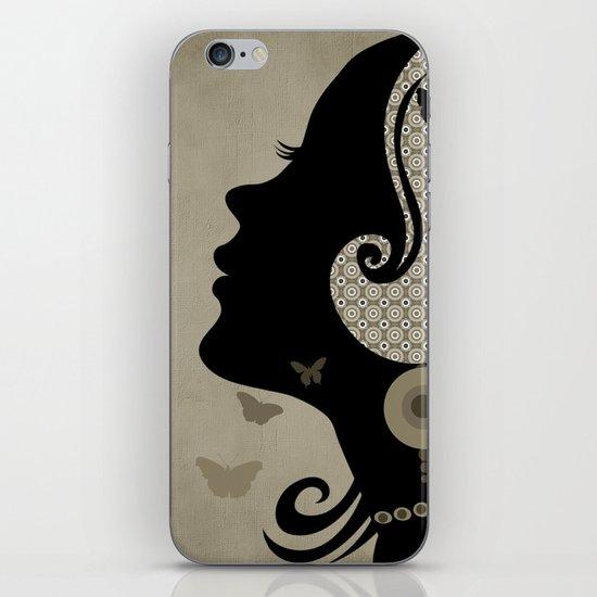 madame butterfly (II) iPhone & iPod Skin