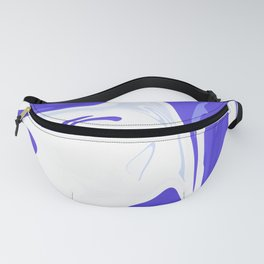 Abstract purple marble pattern Fanny Pack