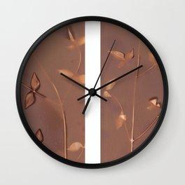 Lumen Print - Warm Wall Clock