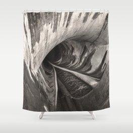 Dam Reticulation Shower Curtain