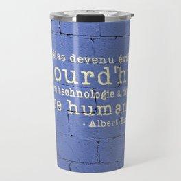 Thus Spake Albert Einstein Travel Mug