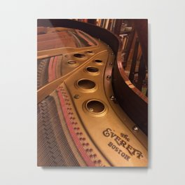 Piano, The Everett Boston Metal Print