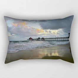 HB Sunsets  5/7/15   Huntington Beach, CA Rectangular Pillow