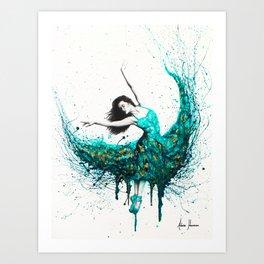 Chrysocolla Dance Art Print