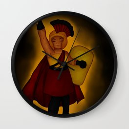 Sparta Woman Wall Clock