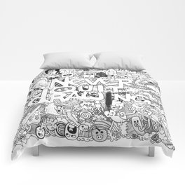 Doddle | Never Quit Drawing Comforters