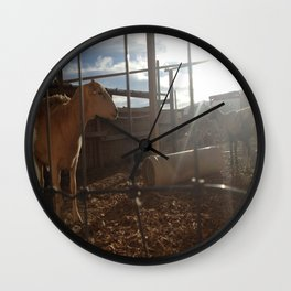 Just Call Me Ovine in the Morning Wall Clock