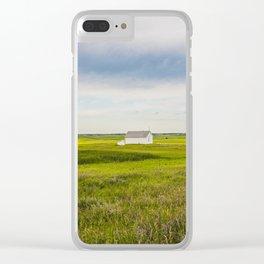 Arena Township School, North Dakota 8 Clear iPhone Case