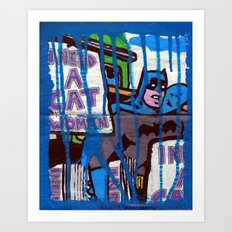 I Need a Catwoman Art Print