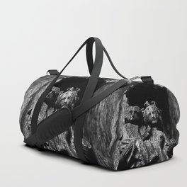shot on iphone .. madonna & child Duffle Bag