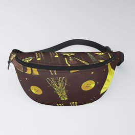 Mr Spoon Moon Has A Button Fanny Pack