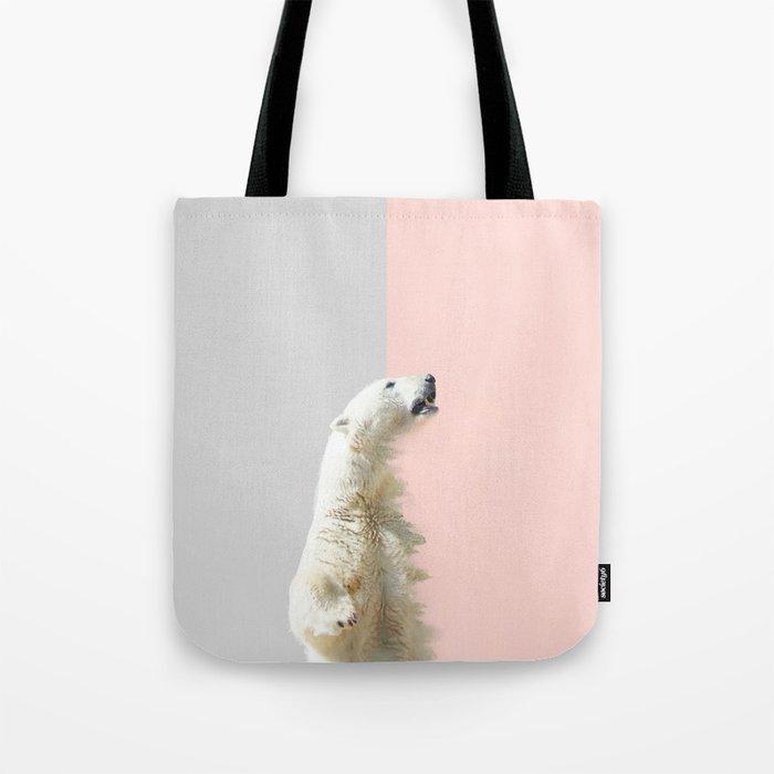 Polar Bear #society6 #decor #buyart Tote Bag
