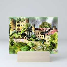 Hohenschwangau Castle Mini Art Print