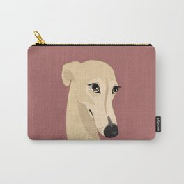 Shy greyhound Carry-All Pouch