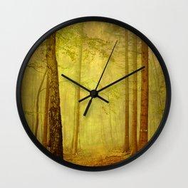 fairytale path Wall Clock