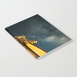 Mountain Light House Two Notebook