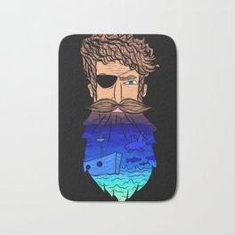 If This Beard Could Talk, Hair Series Bath Mat