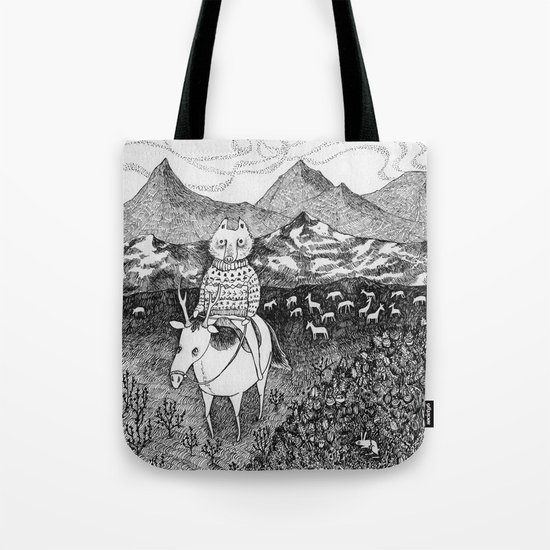 Sami fox Tote Bag