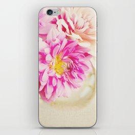 Sweet Peonies iPhone Skin