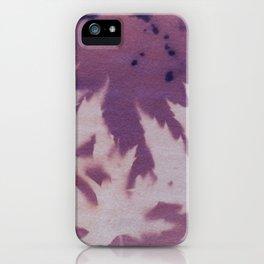 Cyanotype No. 11 iPhone Case