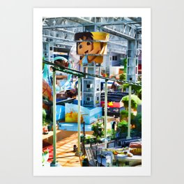 Go Diego Go! Art Print