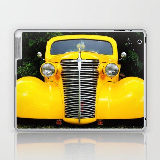 Yellow Chevy Laptop & iPad Skin
