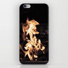 Seahorse Flame iPhone & iPod Skin