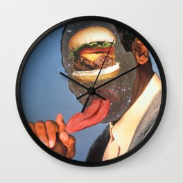 knuckle sandwhich (from god!) Wall Clock