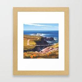garrapata Framed Art Print