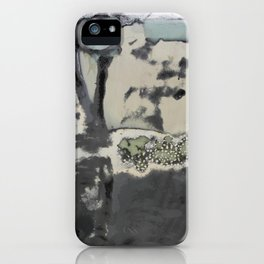 Harbour Abstract - JUSTART (c) iPhone Case