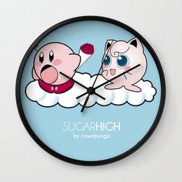 Sugar High Wall Clock