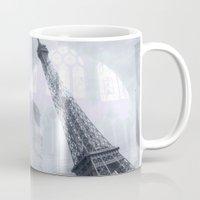paris Mugs featuring Paris by S.Svetlankova