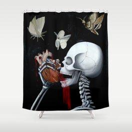 heart eat Shower Curtain