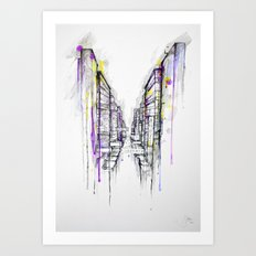 This City Sleeps Art Print
