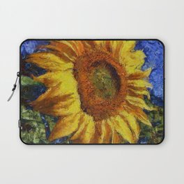 Sunflower In Van Gogh Style Laptop Sleeve