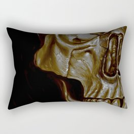 Skulled Rectangular Pillow