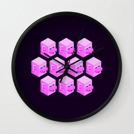 Zhu Wuneng Clones Wall Clock
