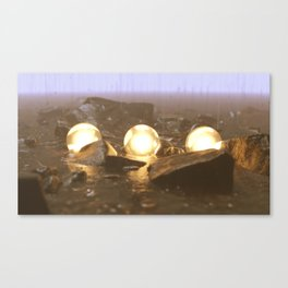 Nightly Embers Canvas Print